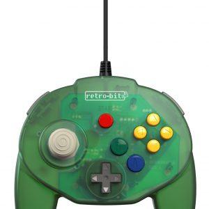 Retro-Bit Tribute 64 USB (Green)
