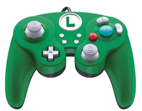 Switch Smash Pad Pro Luigi wired Controller