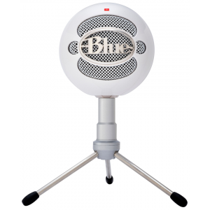 Blue - Microphone Snowball ICE White