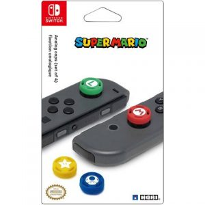 Nintendo Switch Super Mario Analog Caps