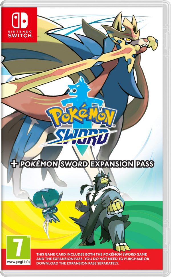 Pokémon Sword (UK, SE, DK, FI) + Expansion Pass