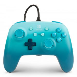 PowerA Nintendo Switch Enh Wired Controller - Aquatic Fantasy