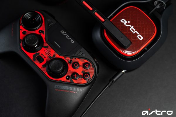 ​Astro C40 Controller + Faceplate Red Bundle