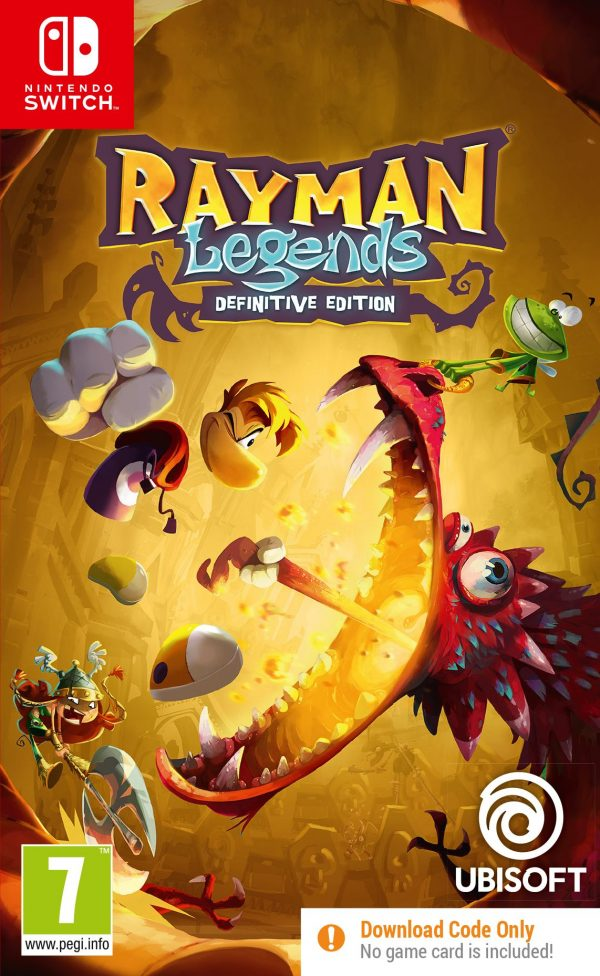 Rayman Legends - Definitive Edition (Code in a Box)