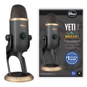 Blue - Microphone Yeti X World of Warcraft Edition