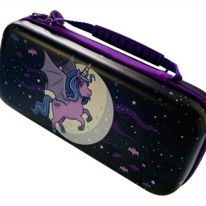 Switch Moonlight Unicorn Case Purple/Violet