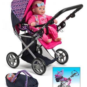 My Baby - Dolls Pram 3-in-1 (61457)