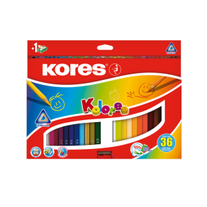 Kores - Kolores - 36 Coloured Pencils (93336)