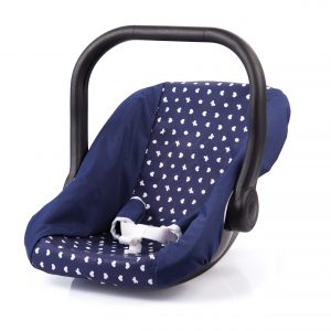 Bayer - Car Seat for Dolls - Navy (67851AA)
