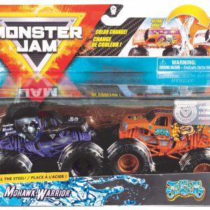 Monster Jam 1:64 2 Pack - Mohawk Warrior & Jester (20118613)