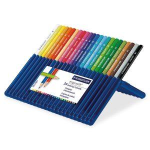 Staedtler - Ergosoft - Coloured Pencils, 24 pcs (157 SB24)