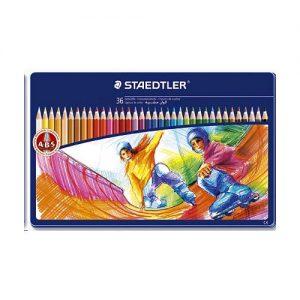 Staedtler - Noris Club - Coloured Pencils in Tin Case, 36 pcs (145 SPM36)
