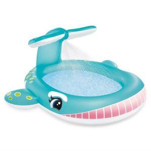 INTEX - Whale Spray kids Pool (57440)