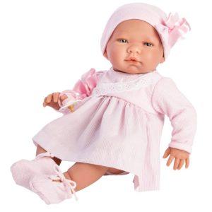 Asi dolls - Maria doll in pink dress (43 cm)