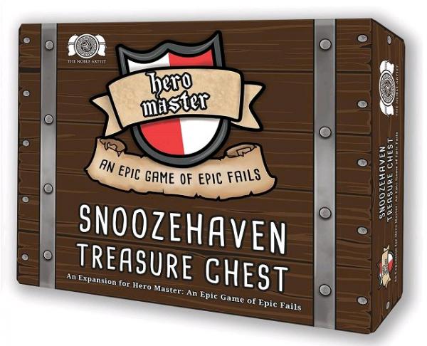 Hero Master - Snoozehaven Treasure Chest (English) (HMTRESCHEST)