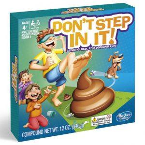 Hasbro - Don't Step In It - Koko perheen peli (E2489TBC)