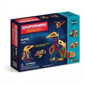 Magformers - Rainbow Designer Set, 62 pc