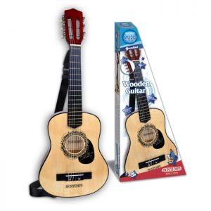 Bontempi - Wooden guitar, 75 cm (217530)