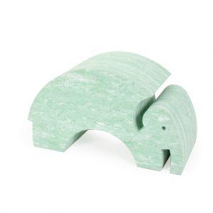 bObles Elefantti - Vaaleanvihreä marmori