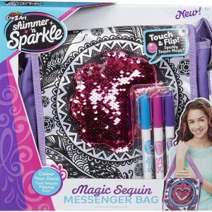 Shimmer 'n Sparkle - Magic Sequins Messenger Bag (40-00523)