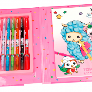 Top Model - Cute Friends - Coloring Book and Pens (048766)
