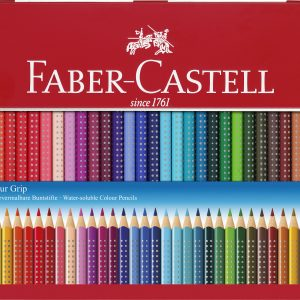 Faber-Castell - Coloured pencil Colour Grip tin of 36 (112435)