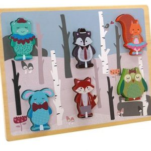 Barbo Toys - Forest Friends - Chunky Puzzles (5987)