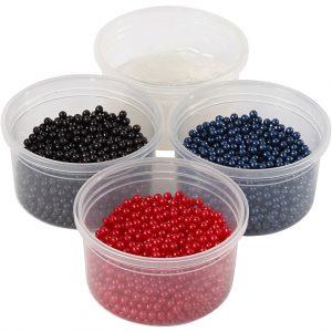 Pearl Clay - Black, Red, Dark Blue (78727)