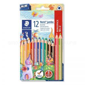 Staedtler - Coloured pencil Noris jumb FSC 100% (128 NC12P1)