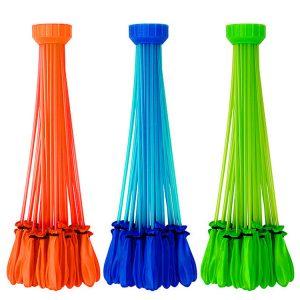 Bunch O Balloons - 3 foil Pack Blue,Orange,Green