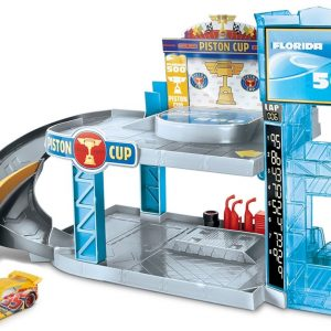 Cars - Florida 500 Racing Garage Playset (FWL70)
