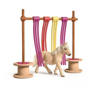 Schleich - Pony curtain obstacle (42484)