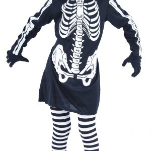 Skeleton Dress - Childrens Costume (Size 122-134) (94084-4)