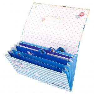 Miss Melody - Kirjepaperia mapissa Love - Sininen