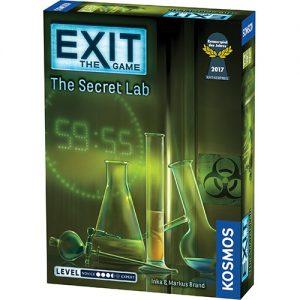 Exit: The Secret Lab - Escape Room Game (English)