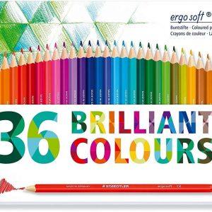 Staedtler - Coloured pencil ergosoft 36 pcs FSC 100% (157 M36)