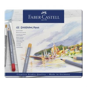 Faber-Castell - Goldfaber akvarel tin, 48 pc (114648)
