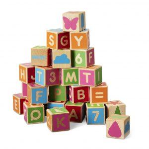 Micki - Wooden Alphabet Blocks (10213500)