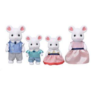 Sylvanian Families - Marshmallow Mouse Family (5308)