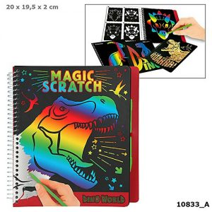 Dino World - Magic Scratch Book (0410833)
