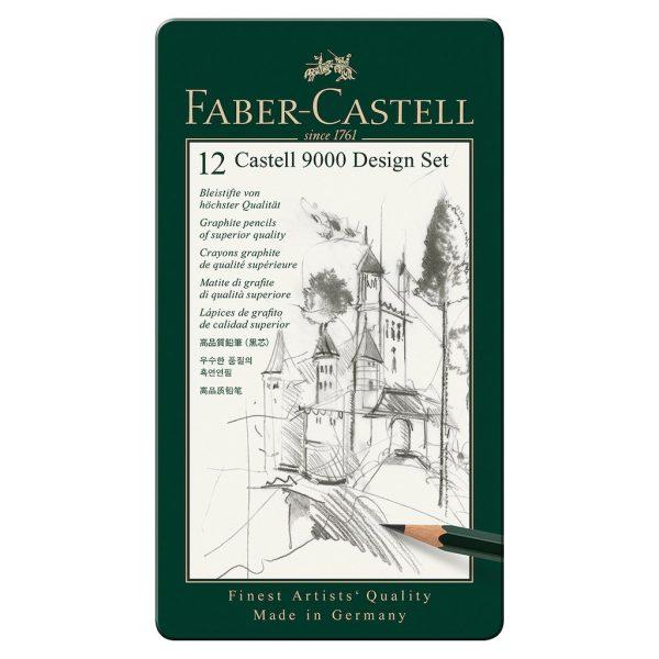 Faber-Castell - Graphite pencil Castell 9000 Design set (119064)
