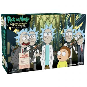 Rick and Morty - Close Rick Counters of the Rick Kind - Deck Building Game (MDIEOTHEO02574)