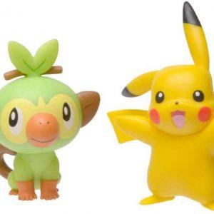 Pokemon - Battle Figure – Grookey and Pikachu (97625)