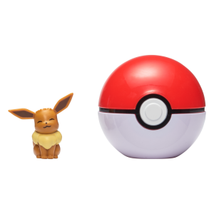 Pokemon - Clip'N Go - Eevee + Pokeball (PKW0041)