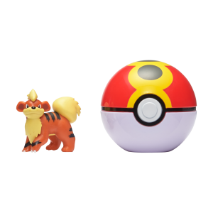 Pokemon - Clip'N Go - Growlithe + Repeat ball (PKW0042)