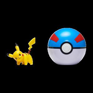 Pokemon - Clip'N Go - Pikachu + Great beall (PKW0043)