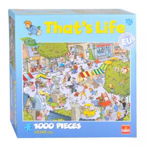 Goliath - That's Life - Puzzle - Village (1000pcs) (71304)