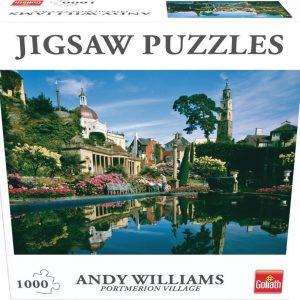 Goliath - Puzzle - Portmerion Village (1000pcs) (71375)