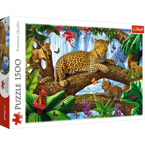 Trefl - Puzzle 1500 pc - Resting among the trees (26160)