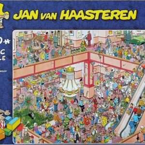 Jan Van Haasteren - Shop til you drop - 1000 Piece Puzzle (81453L)